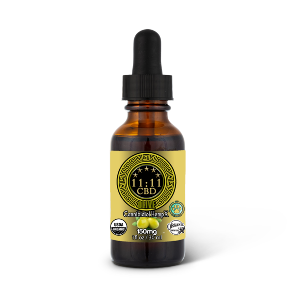 Olive Oil pet care hemp tincture 150mg